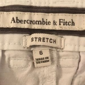 Abercrombie & Fitch Shorts - White shorts